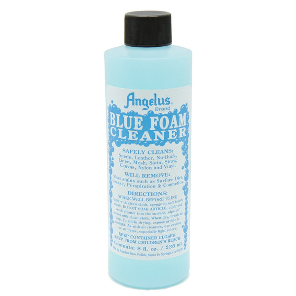 Angelus Blue Foam Cleaner will get into all those little creases that need some extra scrubbing.