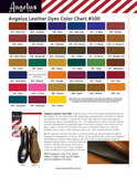 12 Color Leather Dye Assortment Kit
