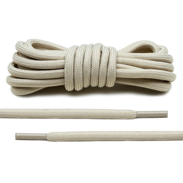 Beige Rope Laces