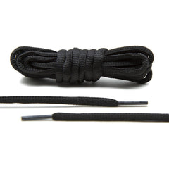 Black - Thin Oval Laces