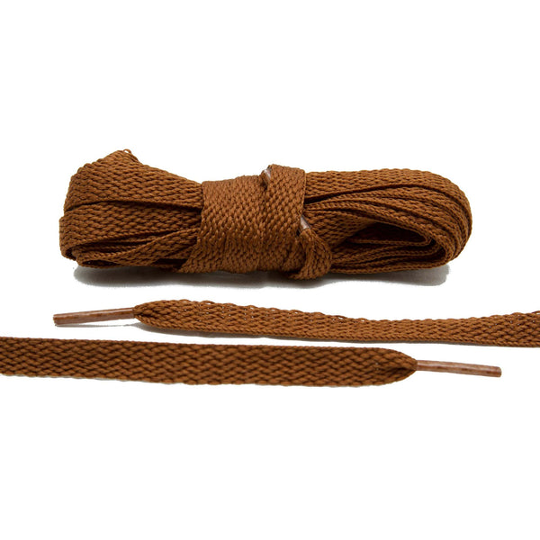 Lace Lab makes the perfect natural tone for your canvas sneakers. Our Brown Shoe Laces are a must.
