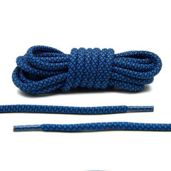 Columbia Blue/Black Rope Laces