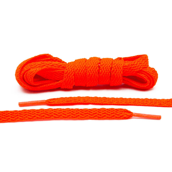 Add some orange fire to your collection with Lace Lab's Flaming Orange Shoe Laces.