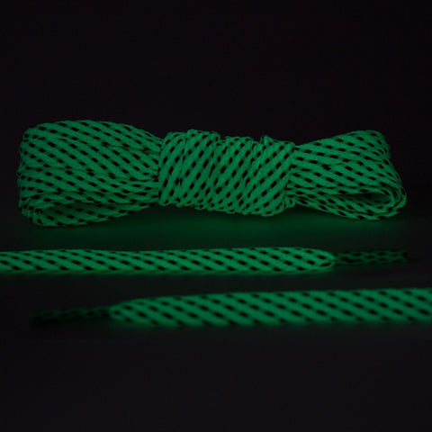 Glow In The Dark - Reflective Flat Laces 2.0
