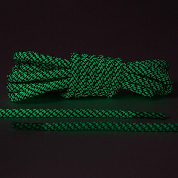 Glow In The Dark 3M Reflective Rope Laces