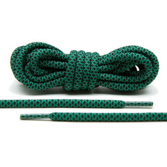 Green/Black Rope Laces