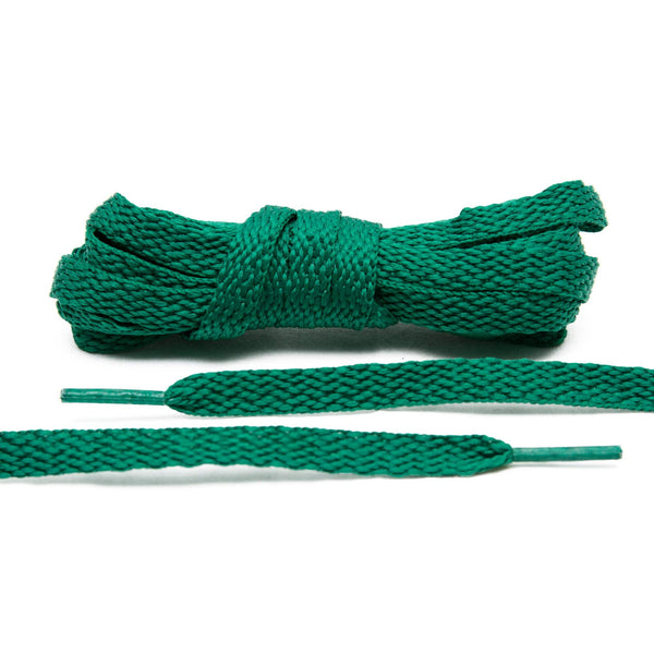 The Lace Lab Kelly Green Shoe Laces will complete your Celtics customization.