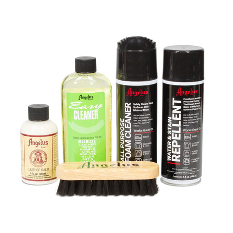 Angelus Leather Shoe Cleaning Kit