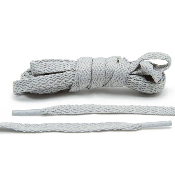 Pick up a pair of Lace Lab's Light Grey Shoe Laces when you get bored of your old white ones.