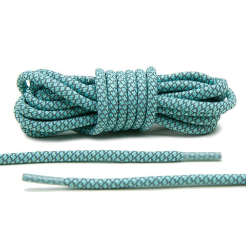 Bring your Tiffany's to life with Lace Lab's Mint 3M Reflective Rope Laces.
