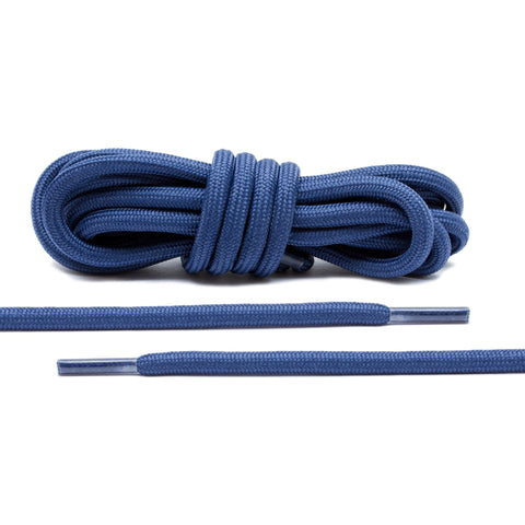 Navy Blue Rope Laces