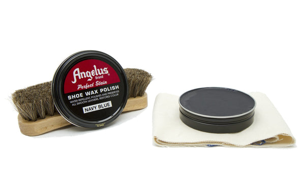 Angelus Navy Blue Shoe Wax Polish