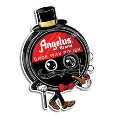 Shoe Wax Polish Dapper Sticker
