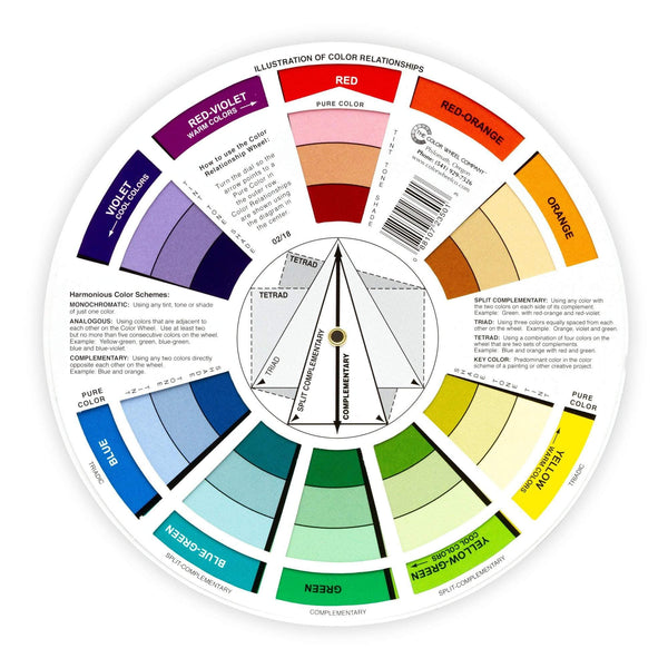 Pocket Color Wheel Mixing Guide
