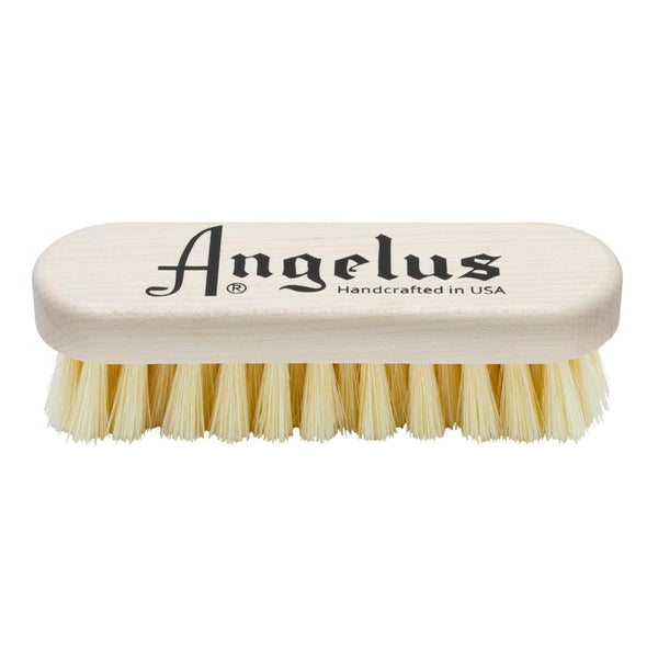 Keep your sneakers clean with Angelus Brand's Premium Hog Bristle Sneaker Cleaning Brush
