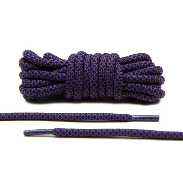 Lace Lab's Purple and Black Rope Laces are a perfect finishing touch for your restoration projects.