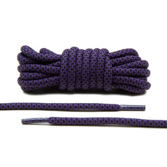 Purple/Black Rope Laces