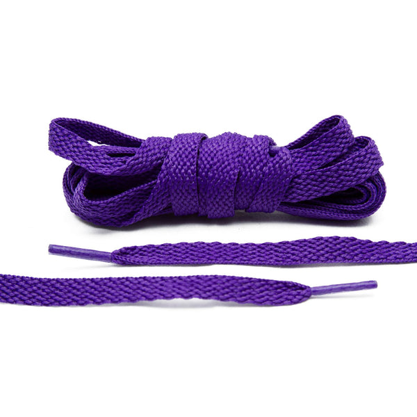 The Lace Lab Purple Shoe Laces are perfect for your Lakers-themed customization.