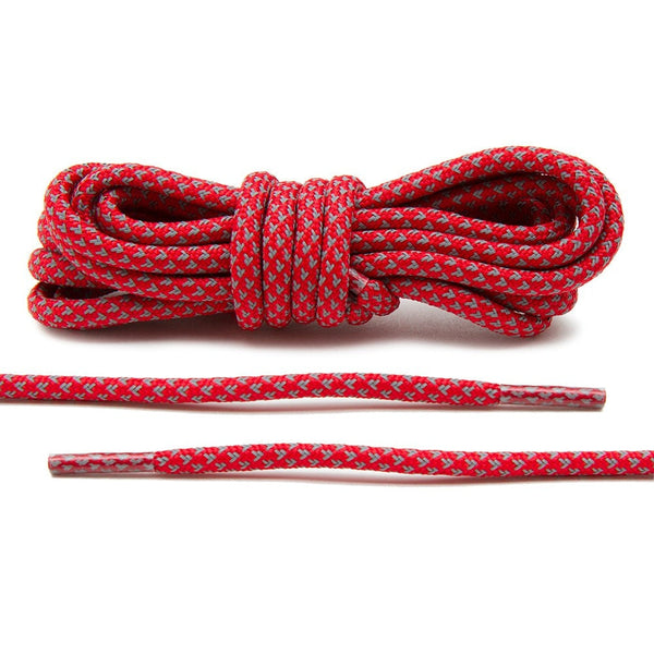 Red 3M Inverse Rope Laces