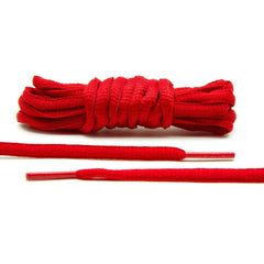 Red - Thin Oval Laces