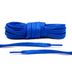 Royal Blue Waxed Shoe Laces