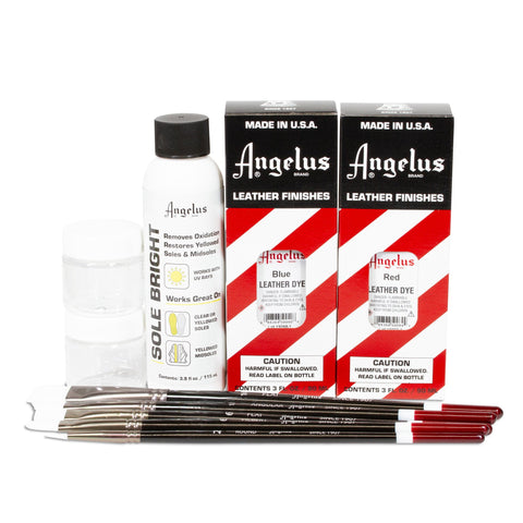 Angelus Sole Dye Kit - Customize the clear soles of your sneakers!