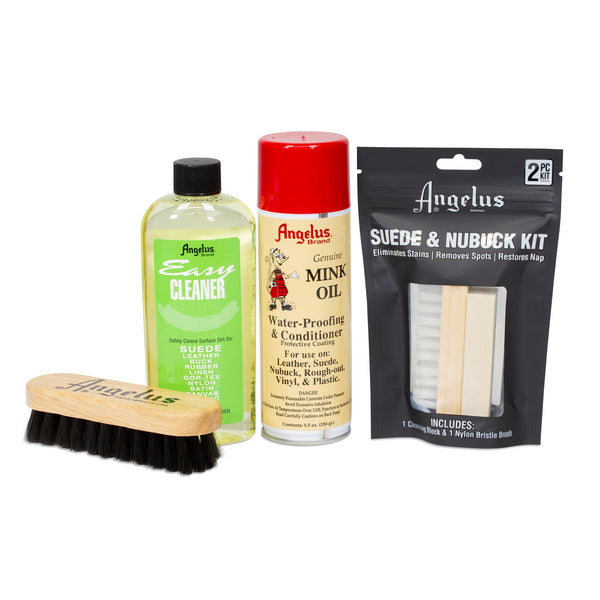 Suede Cleaning Kit - Includes everything needed to clean & protect suede shoes!
