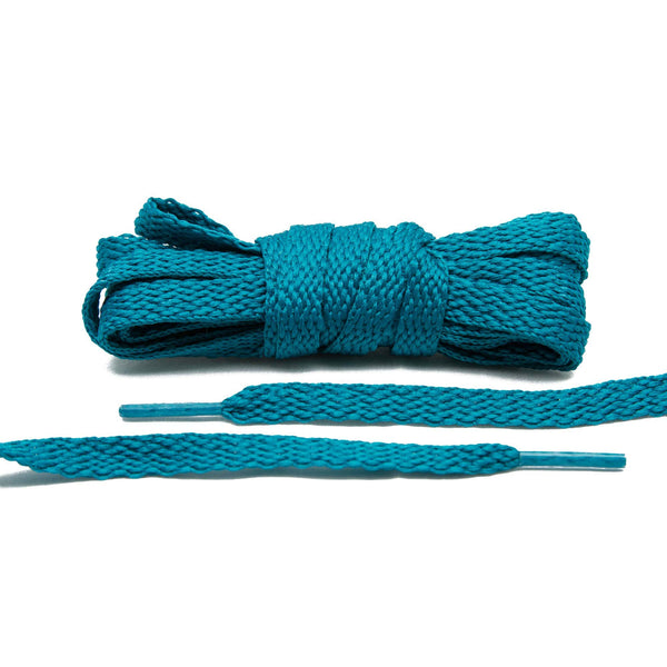 When you need the right amount of color for your vintage sneakers, Lace Lab's Teal Shoe Laces are your best bet.