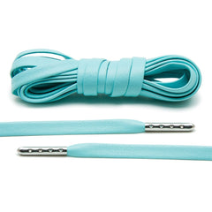 Mint Luxury Leather Laces - Silver Plated