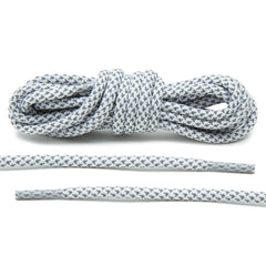 White 3M Inverse Rope Laces