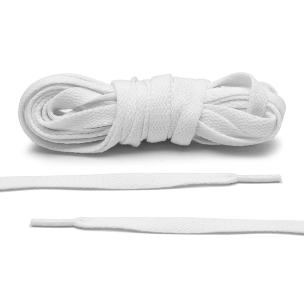 White Jordan 1 Replacement Shoelaces by Lace Lab - Only $4.95/pair