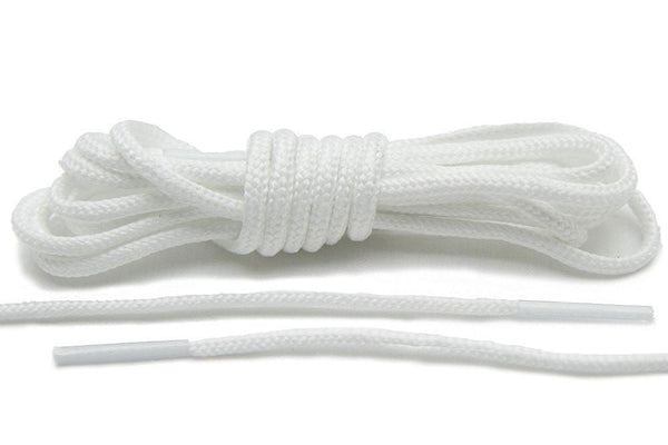 Lace Lab's White Roshe-Style Laces are the ideal replacement for your Jordan Future's.