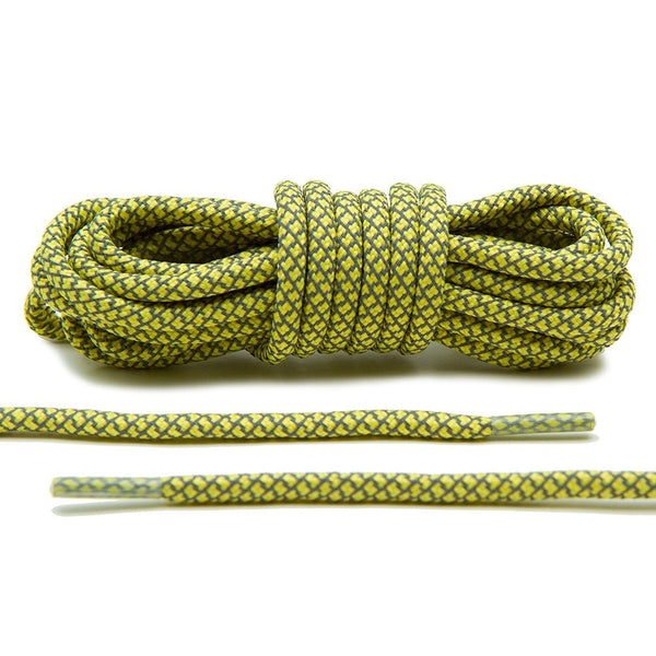 Lace Lab makes Yellow 3M Reflective Rope Laces, the hottest 3M laces on the market.
