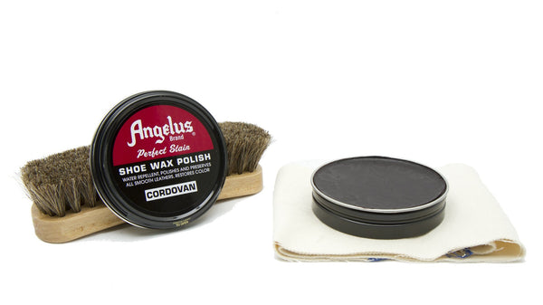 Angelus Cordovan Shoe Wax Polish will keep your dress shoes and boots looking fresh.
