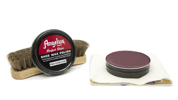 Angelus Red/Oxblood Shoe Wax Polish