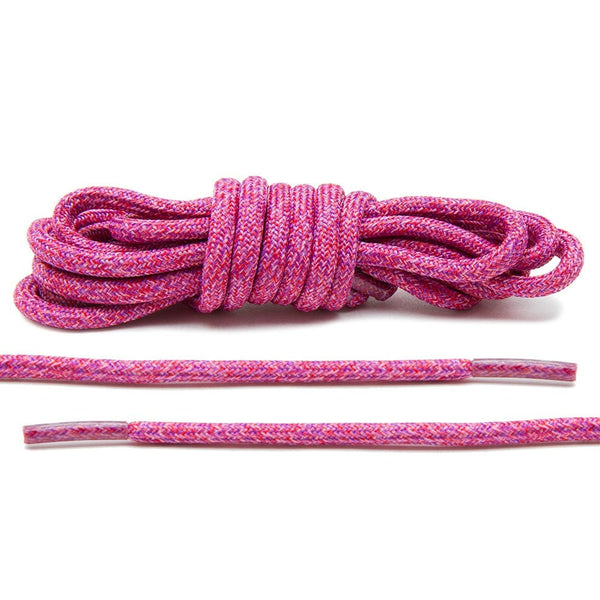 Pink Multi-Color Rope Laces
