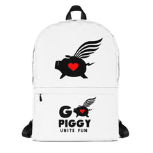 Load image into Gallery viewer, GO PIGGY UNITE FUN Backpack