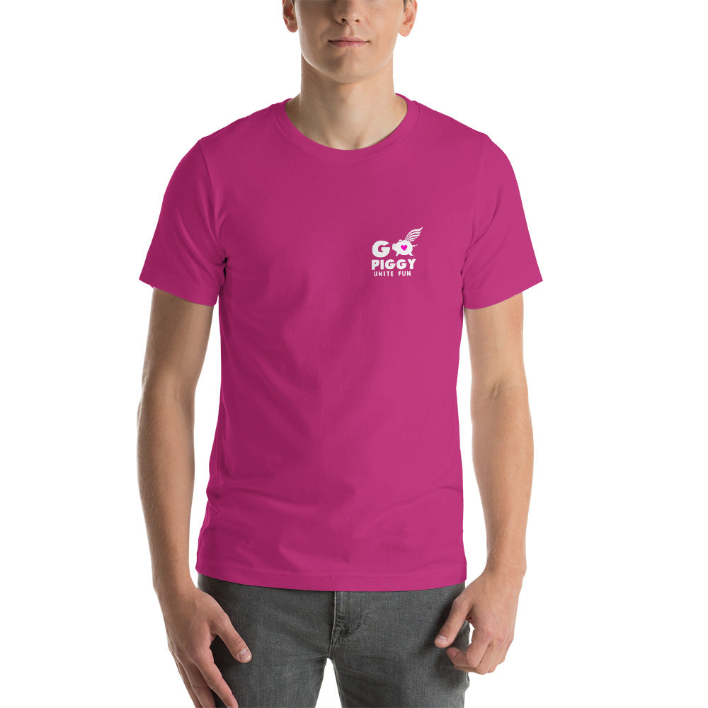 GO PIGGY PINK SHIRT Short-Sleeve Unisex T-Shirt