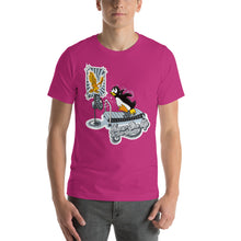 Load image into Gallery viewer, Morals Arrivederci Penguin Shirt - Never Give Up On Your Dreams - T-Shirt