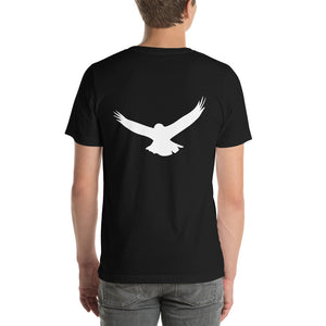 Morals Arrivederci Logo +Big Bird Back T-Shirt