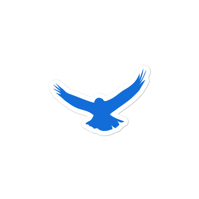 Morals Arrivederci Blue Eagle Stickers