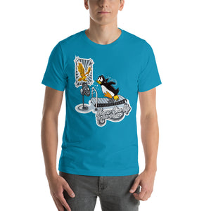 Morals Arrivederci Penguin Shirt - Never Give Up On Your Dreams - T-Shirt
