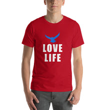 Load image into Gallery viewer, LOVE LIFE Short-Sleeve T-Shirt