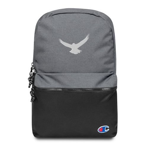 Eagle Embroidered Champion Backpack