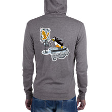 Load image into Gallery viewer, NeverGiveUpOnYourDreams Penguin Unisex zip hoodie
