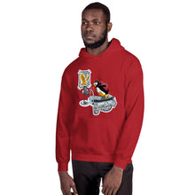 Load image into Gallery viewer, Morals Arrivederci NeverGiveUp Penguin Unisex Hoodie