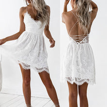 Load image into Gallery viewer, Lace Party Dress