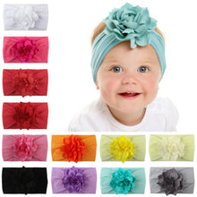 Load image into Gallery viewer, Flower Soft Headband