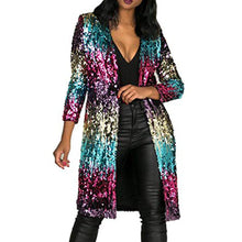 Load image into Gallery viewer, Sequin Statement Cardigan