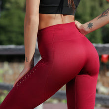 Load image into Gallery viewer, High Waist Hollow Out Leggings
